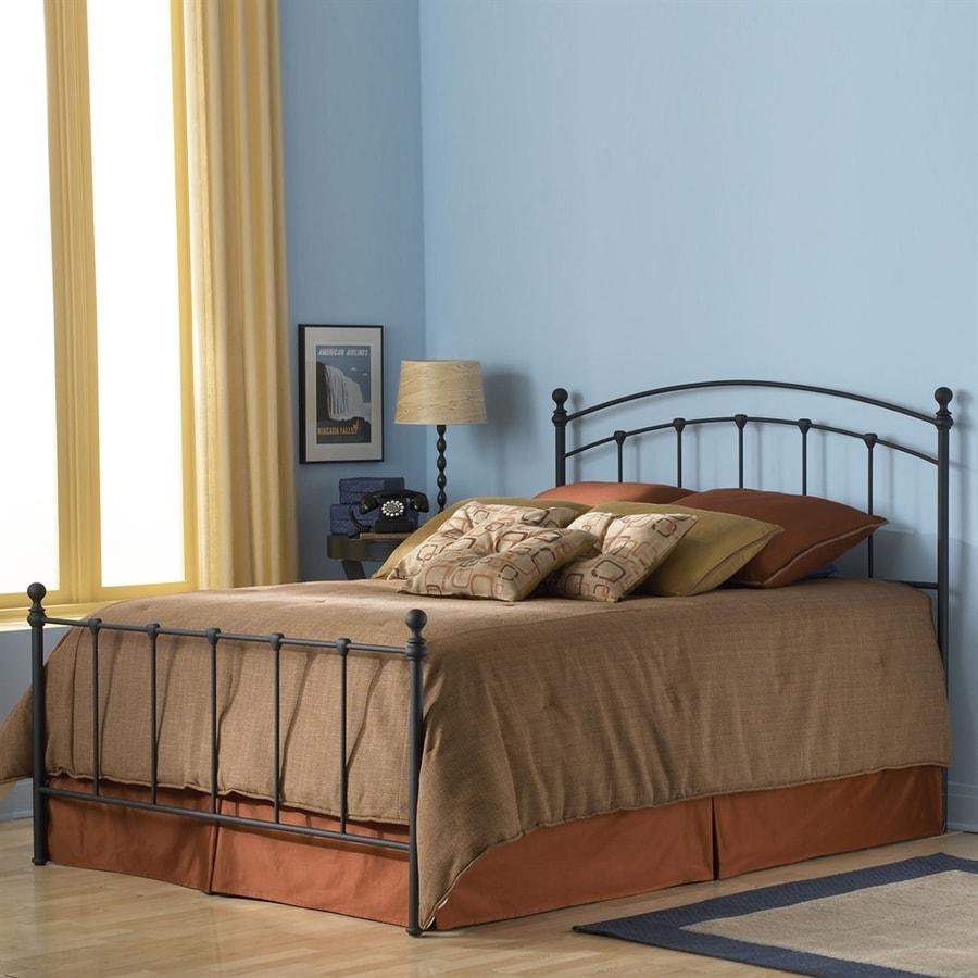 Fashion Bed Group Sanford Matte Black Queen 4-Poster Bed