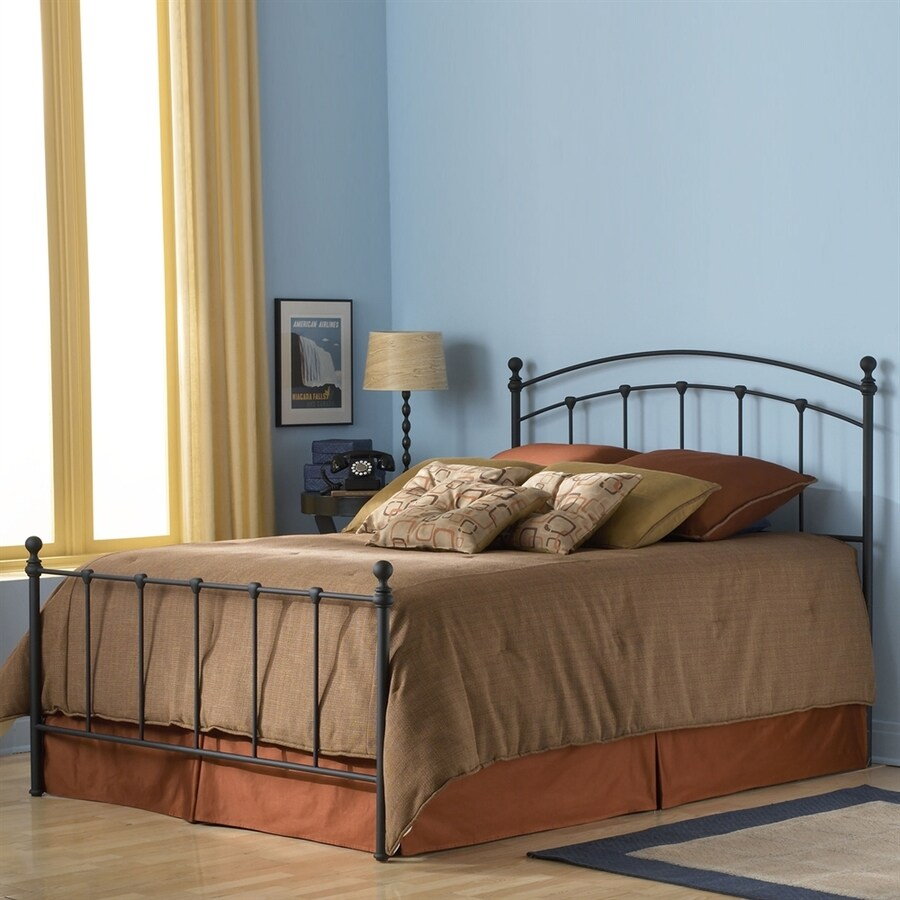 Fashion Bed Group Sanford Matte Black King 4-Poster Bed
