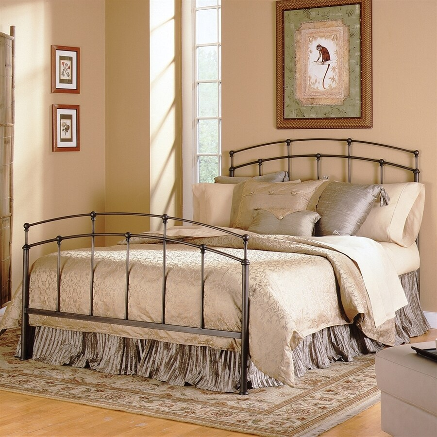 Fashion Bed Group Fenton Black Walnut Queen Panel Bed