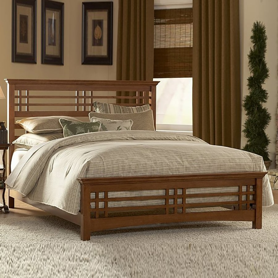 Fashion Bed Group Avery Oak Queen Panel Bed