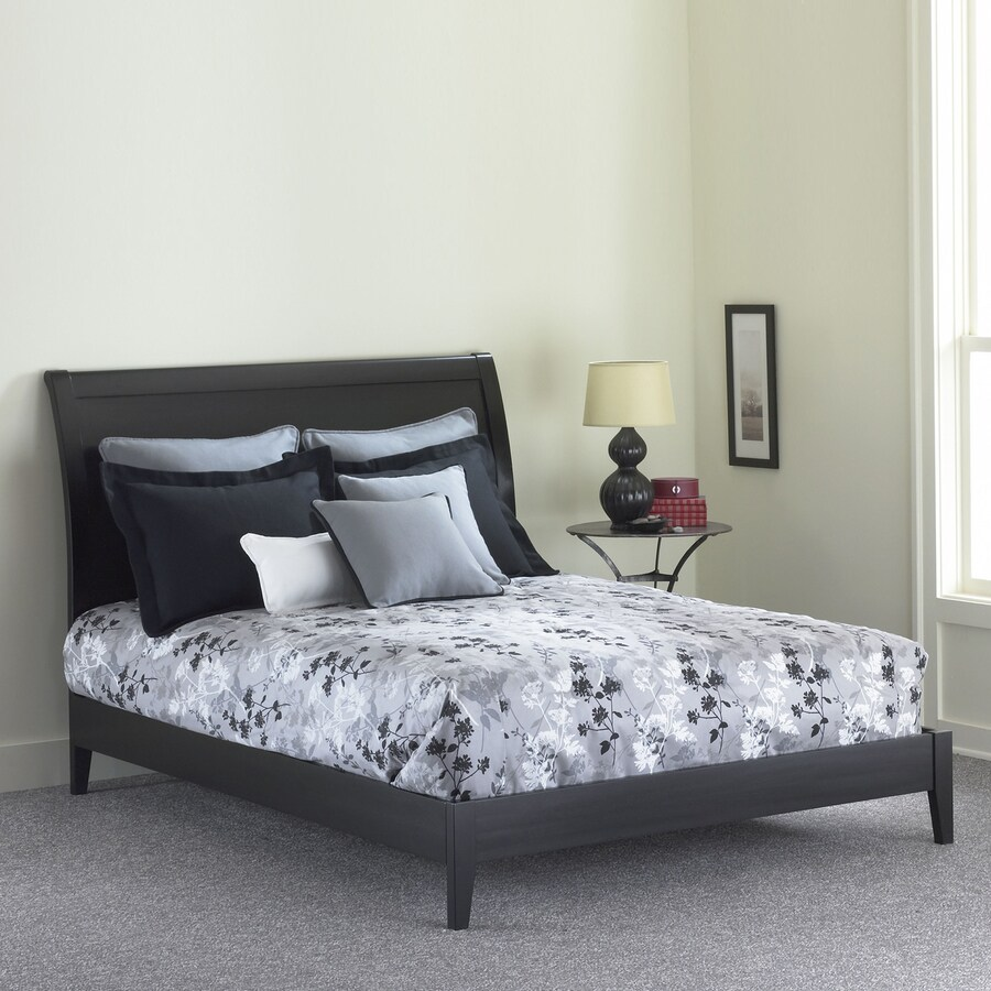 Fashion Bed Group Java Black Queen Platform Bed