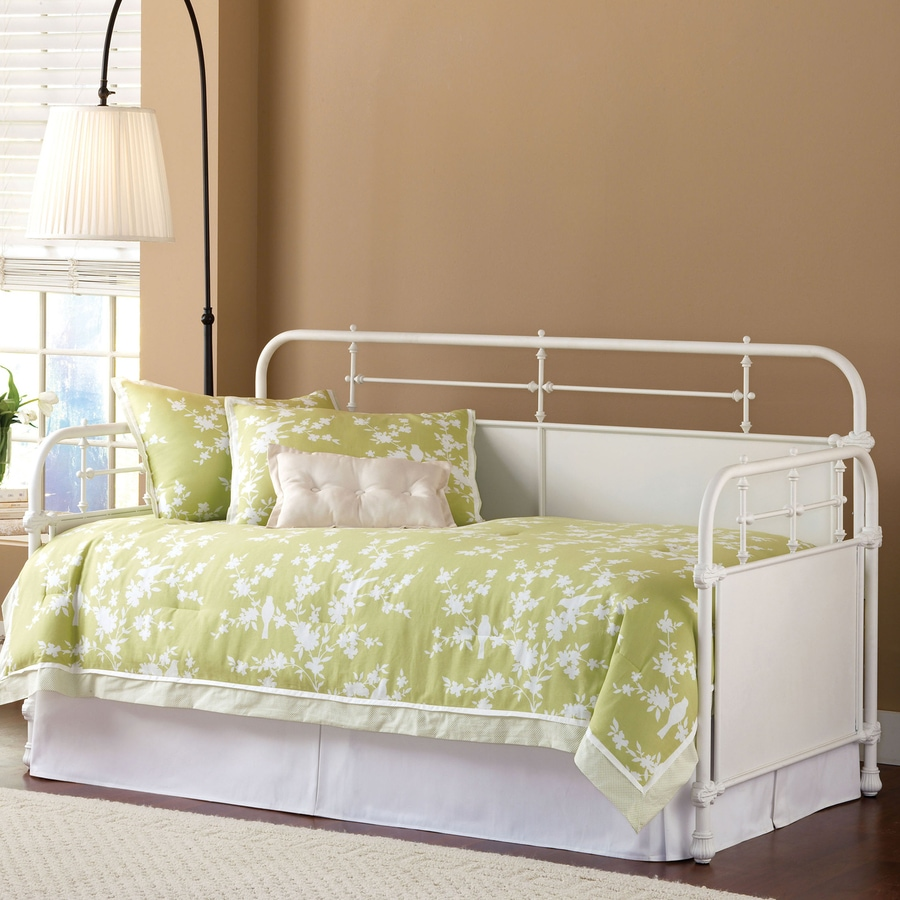 Hillsdale Furniture Kensington Textured White Twin Trundle Bed