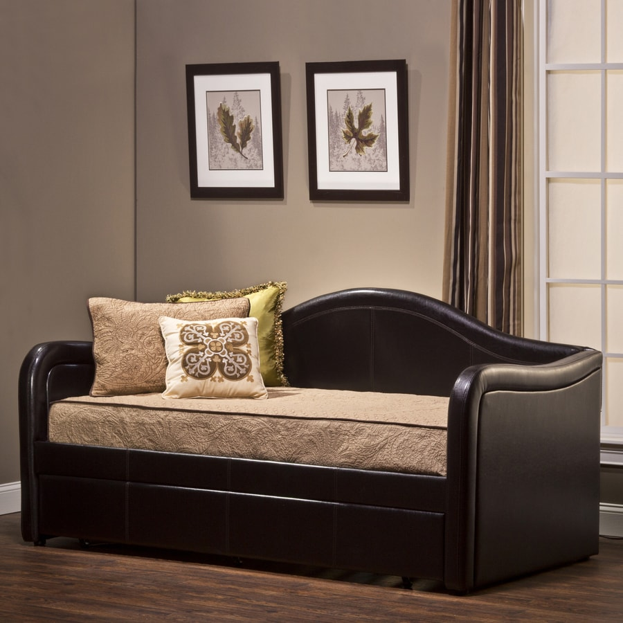 Hillsdale Furniture Brenton Brown Twin Trundle Bed