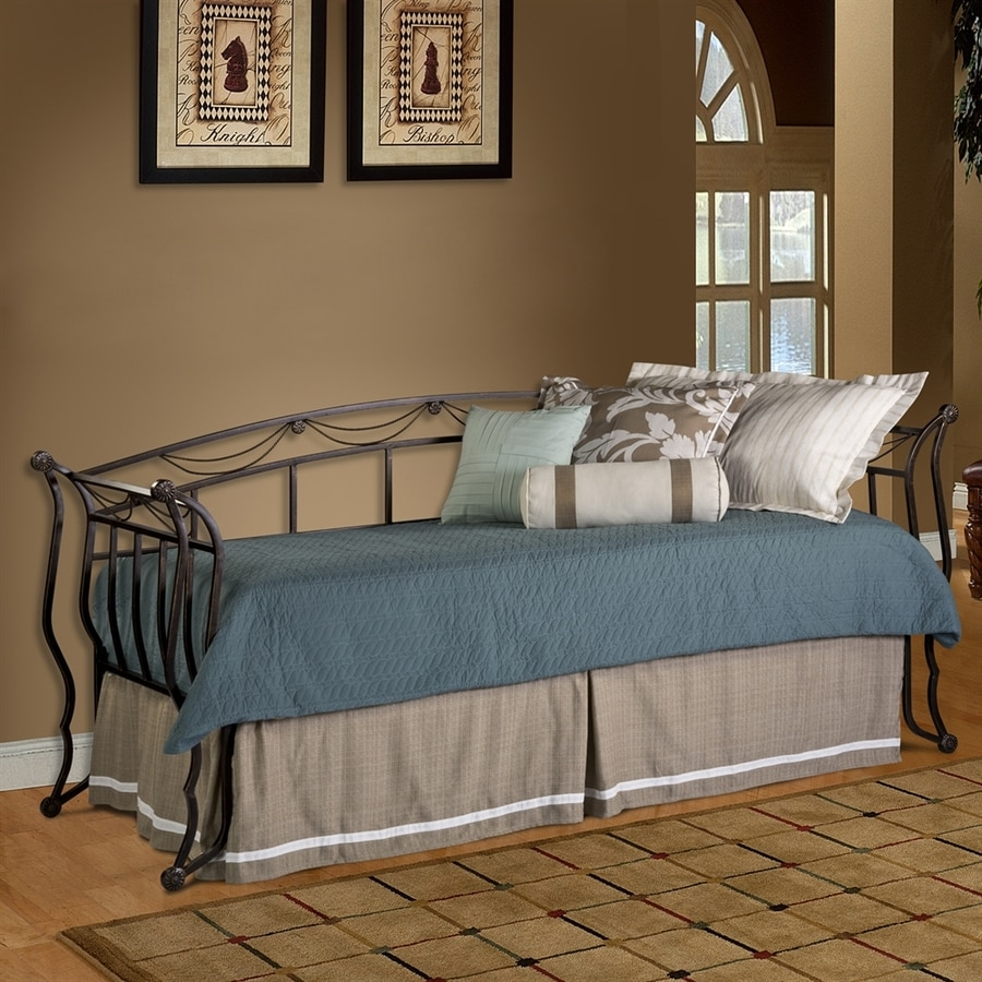 Hillsdale Furniture Camelot Black/Gold Twin Daybed Bed