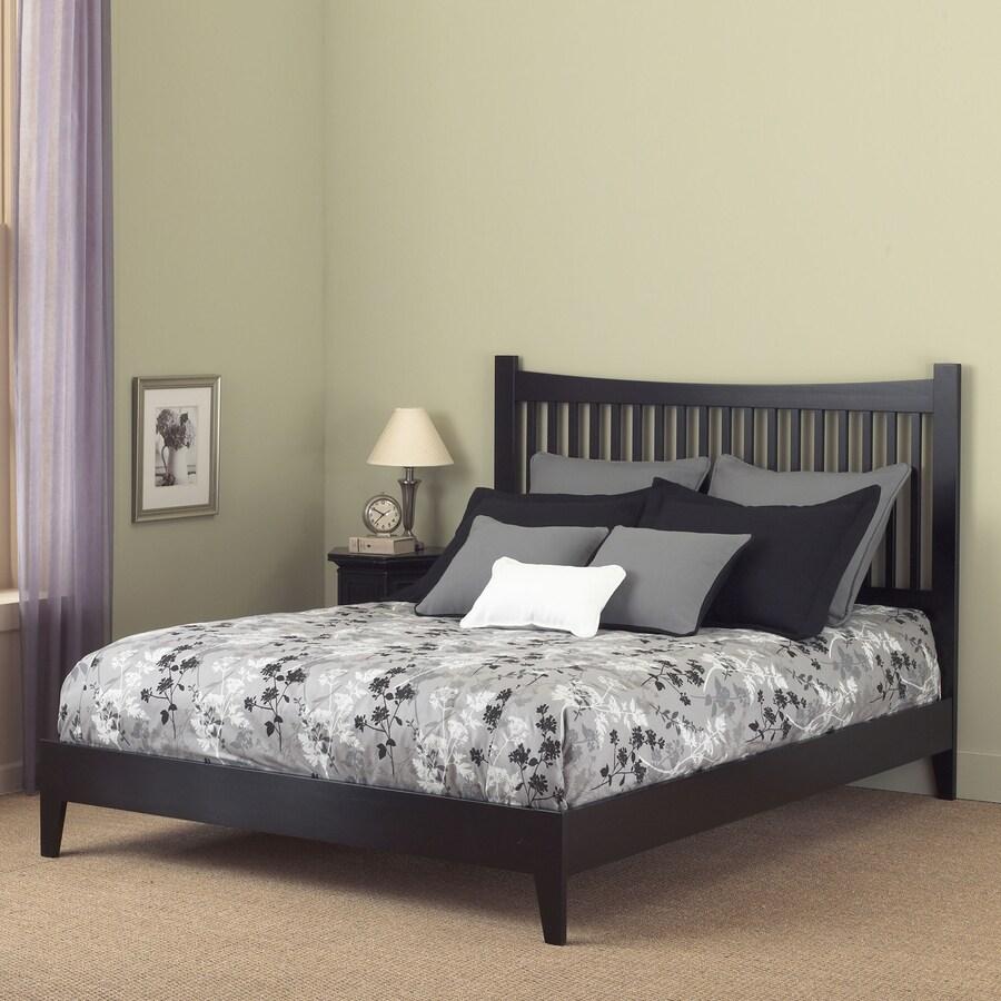 Fashion Bed Group Jakarta Black King Platform Bed