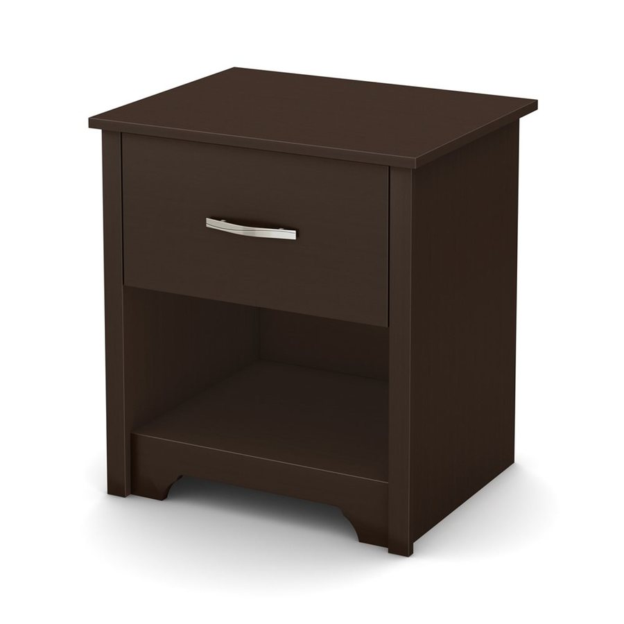 South Shore Furniture Fusion Chocolate Nightstand
