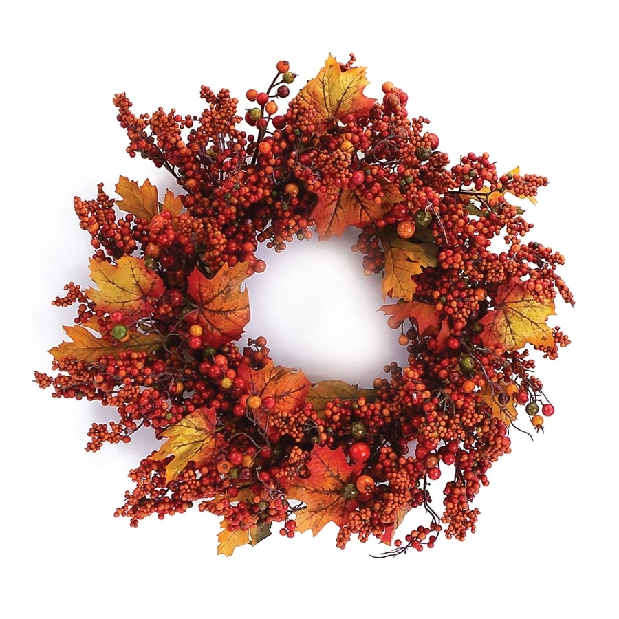Melrose International 24-in Artificial Thanksgiving Wreath