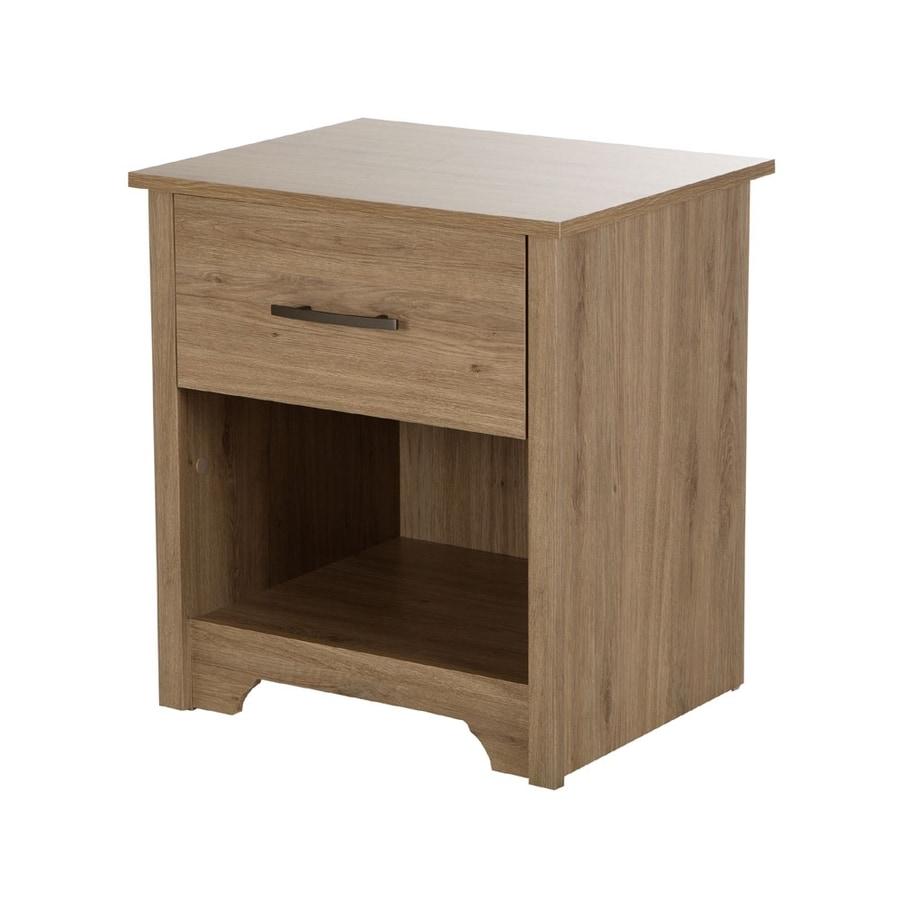 South Shore Furniture Fusion Rustic Oak Nightstand