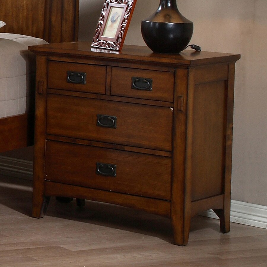 Sunset Trading Tremont Chestnut Oak Nightstand