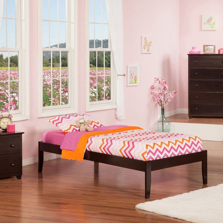Atlantic Furniture Concord Espresso Twin Xl Platform Bed