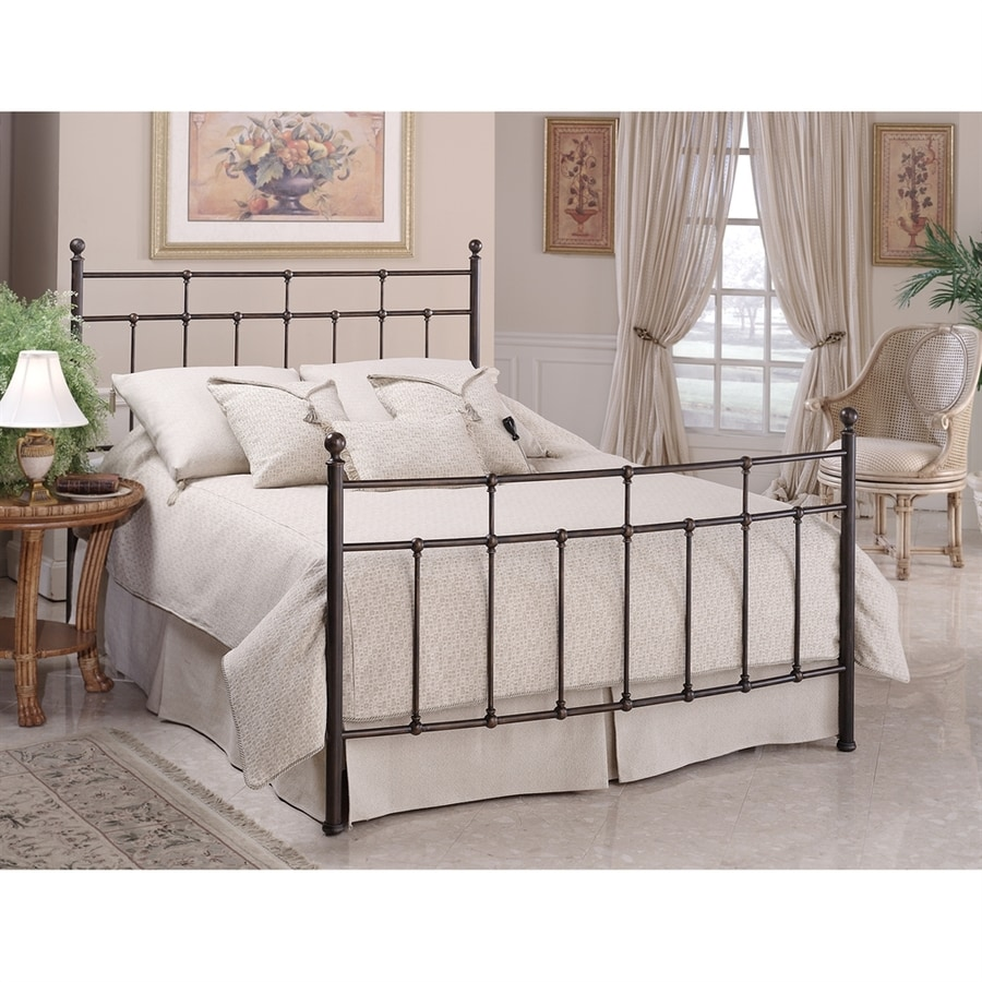 Hillsdale Furniture Providence Antique Bronze Twin 4-Poster Bed