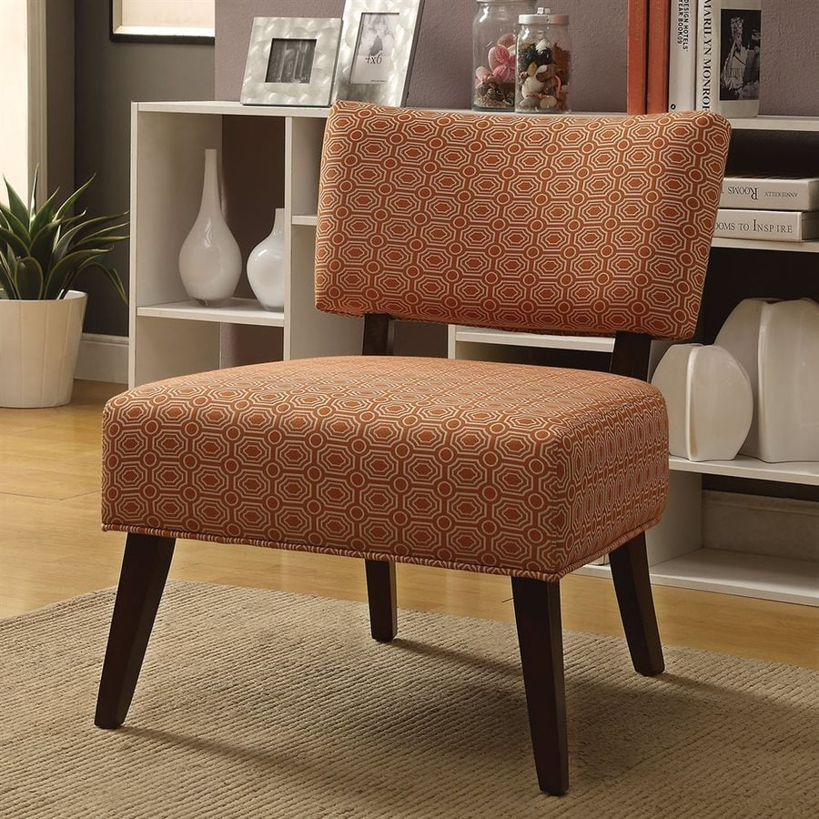 ACME Furniture Able Modern Orange Accent Chair