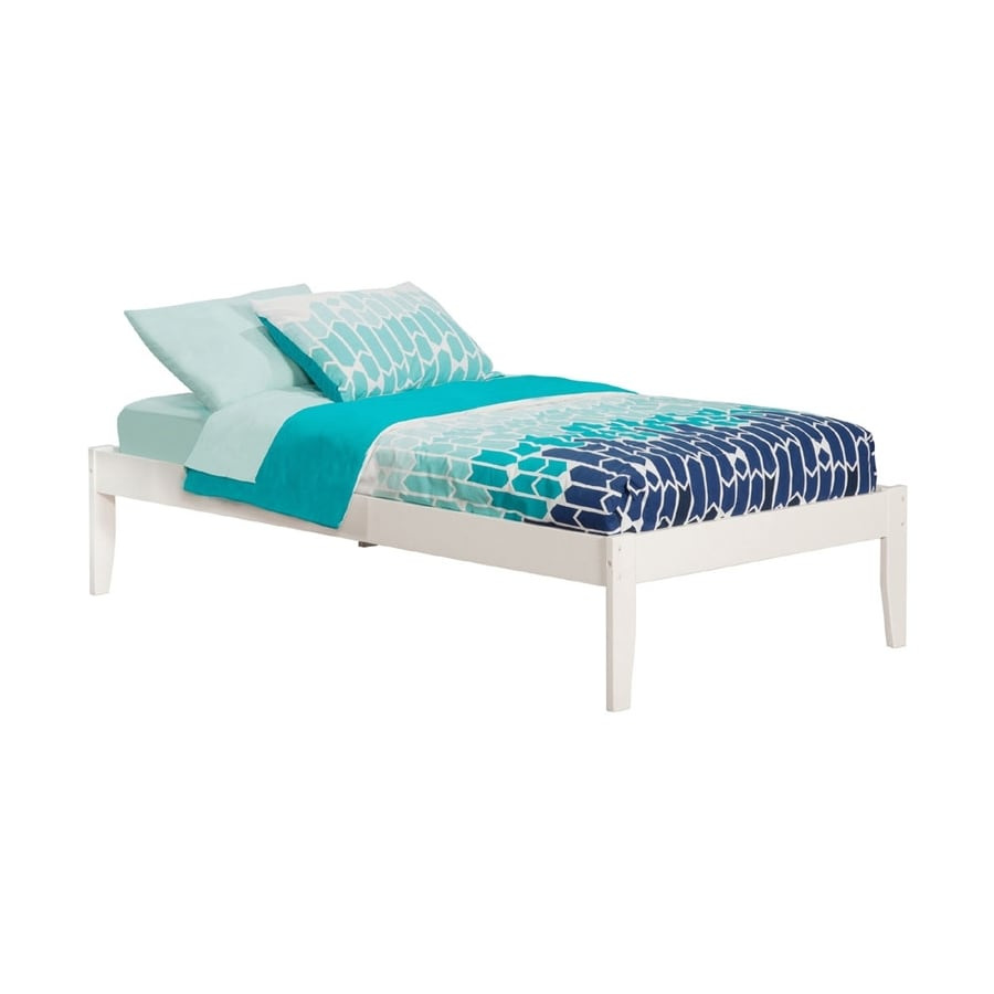 Atlantic Furniture Concord White Twin Platform Bed