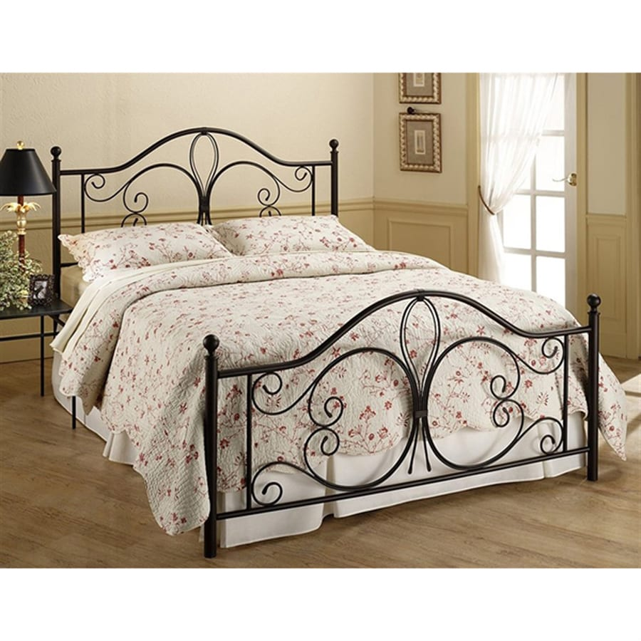 Hillsdale Furniture Milwaukee Antique Brown Queen 4-Poster Bed