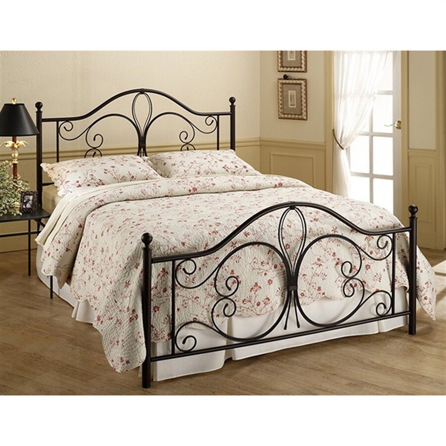 Hillsdale Furniture Milwaukee Antique Brown Twin 4-Poster Bed