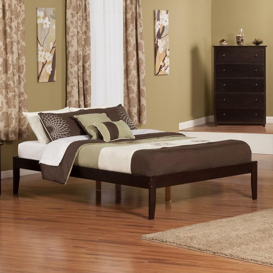 Atlantic Furniture Concord Espresso Queen Platform Bed