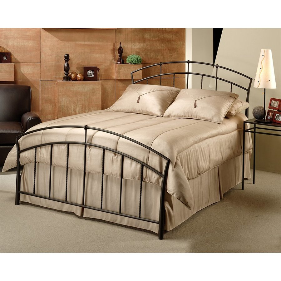 Hillsdale Furniture Vancouver Antique Brown King Panel Bed