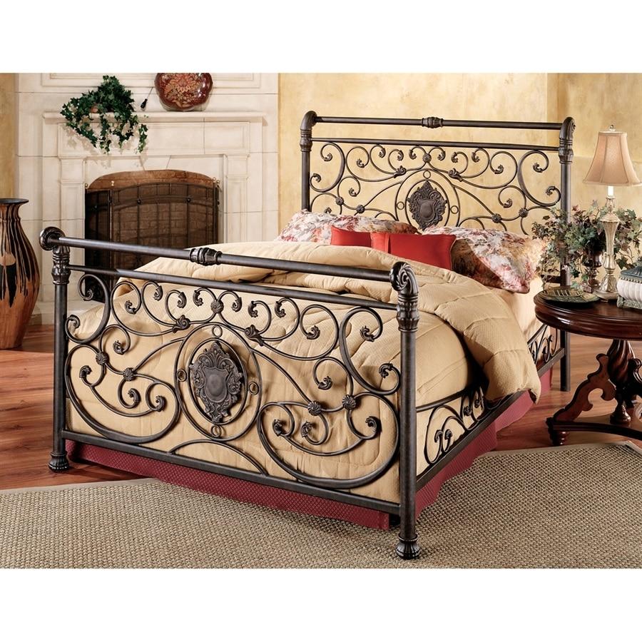 Hillsdale Furniture Mercer Antique Brown California King Sleigh Bed