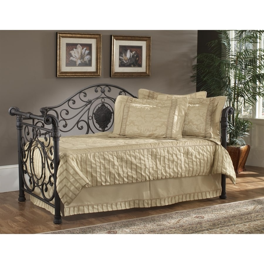 Hillsdale Furniture Mercer Antique Brown Twin Trundle Bed