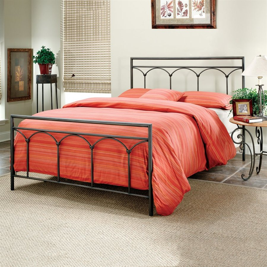 Hillsdale Furniture McKenzie Brown King Panel Bed