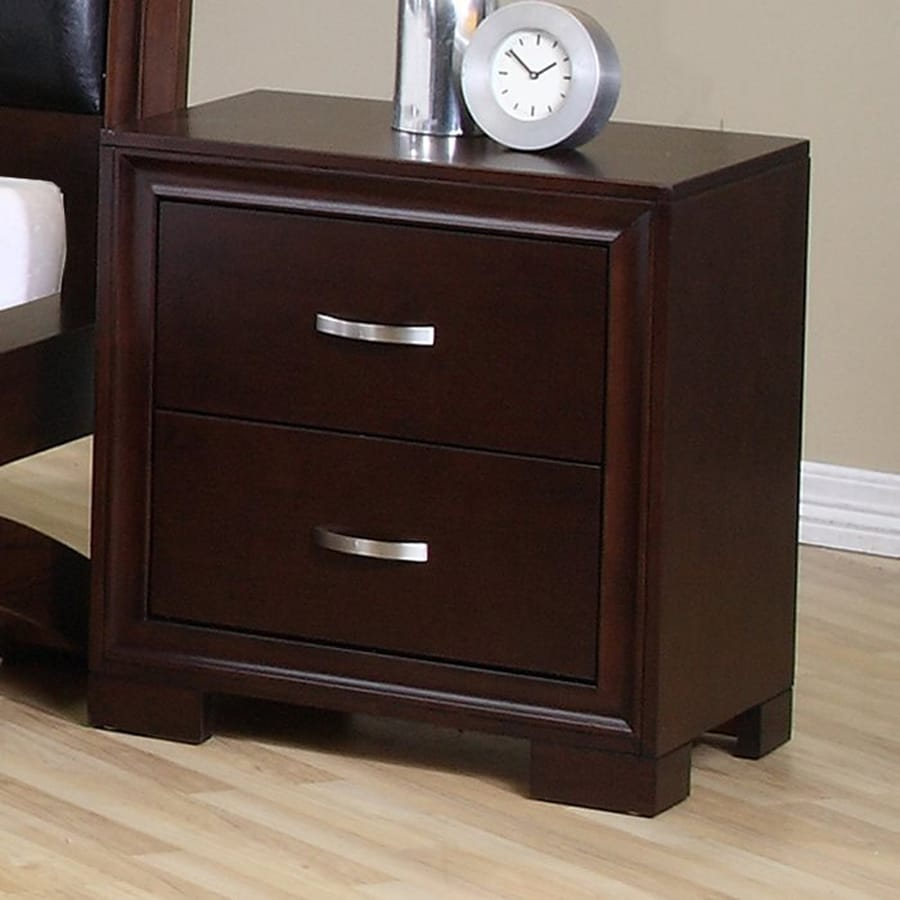 Picket House Furnishings Ranier Espresso Nightstand