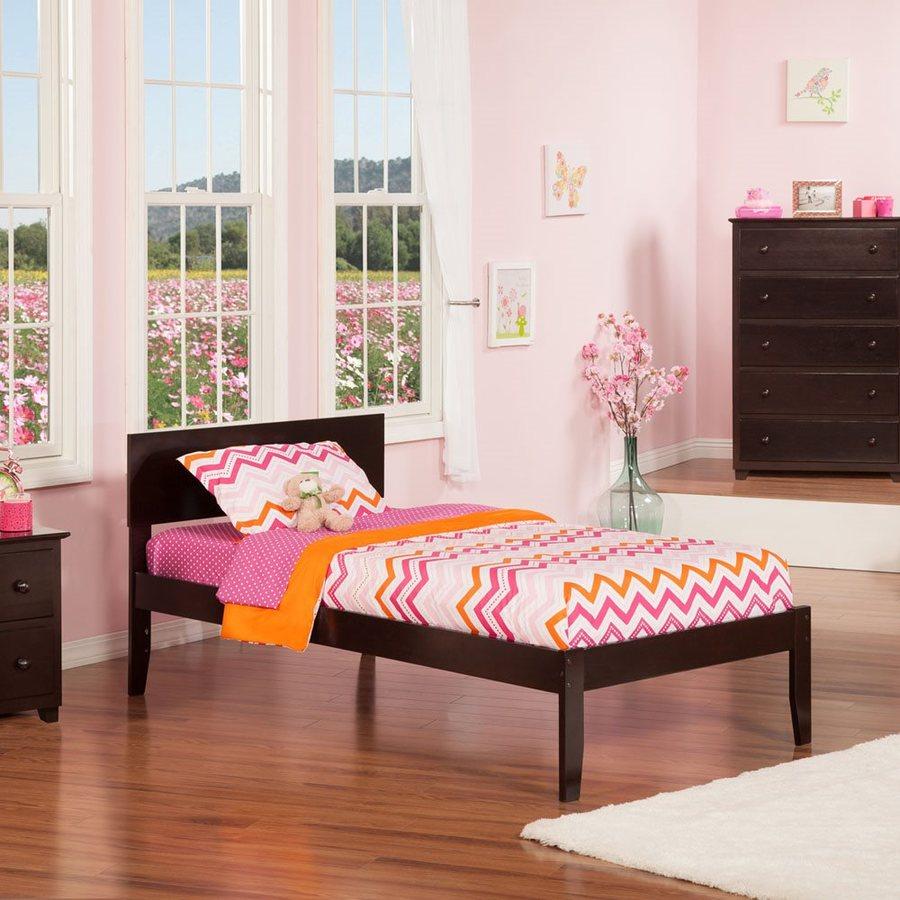 Atlantic Furniture Orlando Espresso Twin Platform Bed