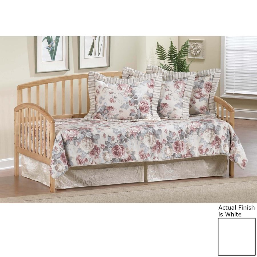 Hillsdale Furniture Carolina White Twin Trundle Bed