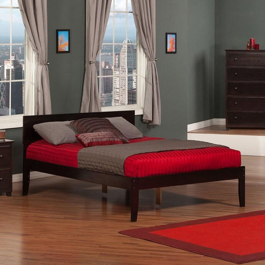 Ashley Furniture Outlet Orlando: Atlantic Furniture Orlando Espresso Full Platform Bed At
