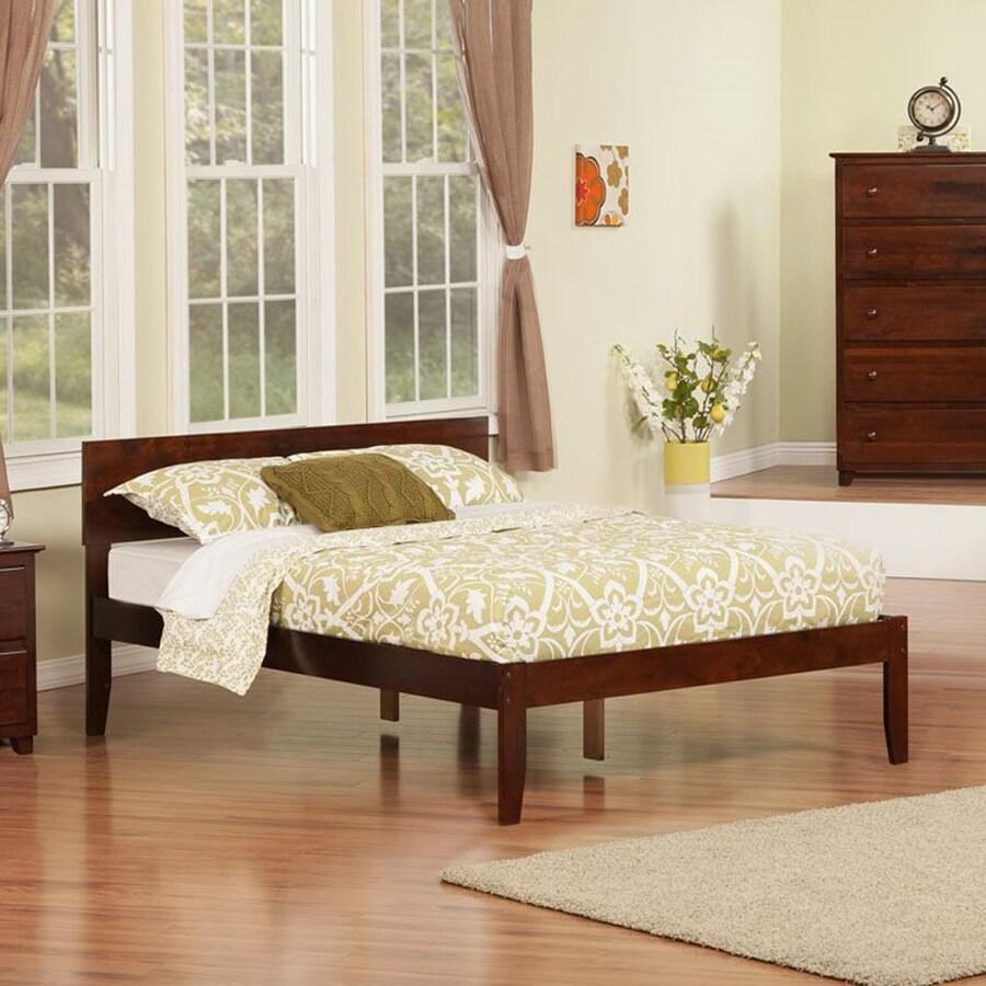 Atlantic Furniture Orlando Antique Walnut Full Platform Bed