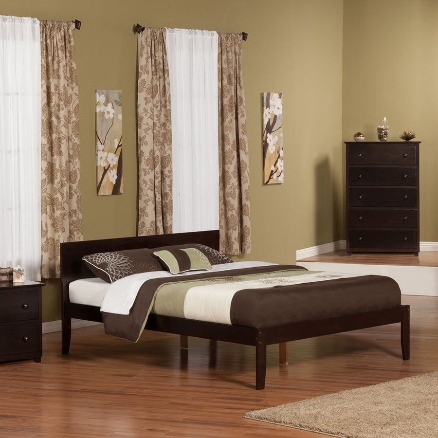 Ashley Furniture Outlet Orlando: Atlantic Furniture Orlando Espresso Queen Platform Bed At
