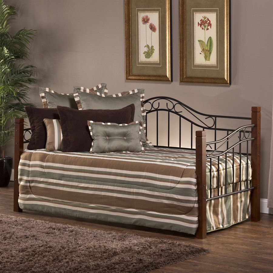 Hillsdale Furniture Matson Cherry/Black Twin Daybed Bed