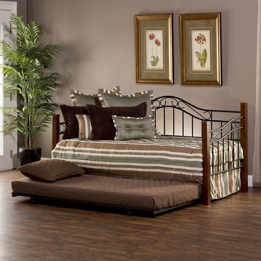 Hillsdale Furniture Matson Cherryblack Twin Trundle Bed At Lowescom
