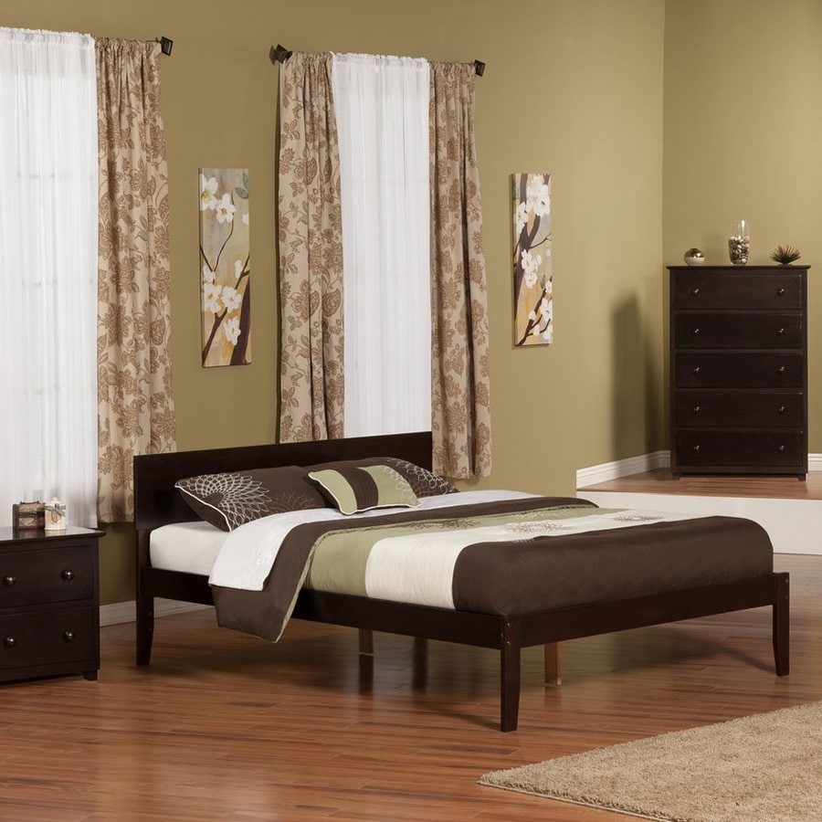 Atlantic Furniture Orlando Espresso King Platform Bed