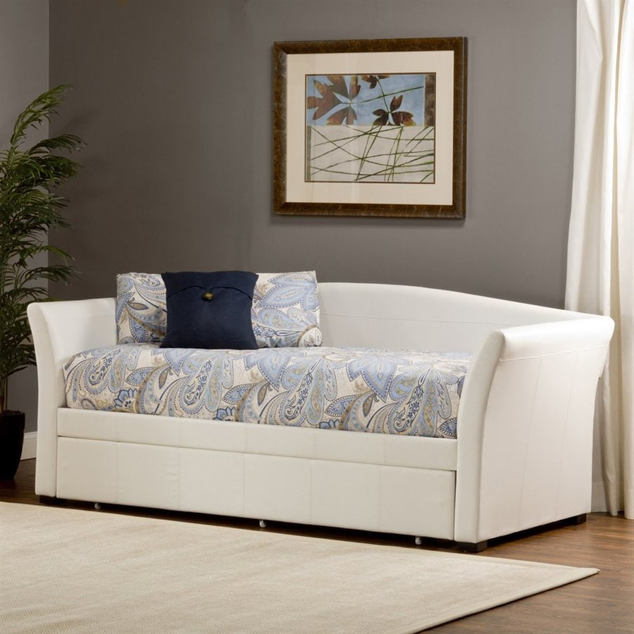 Hillsdale Furniture Montgomery White Twin Trundle Bed