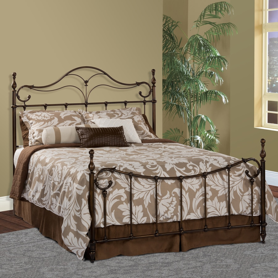Hillsdale Furniture Bennett Antique Bronze Full 4-Poster Bed