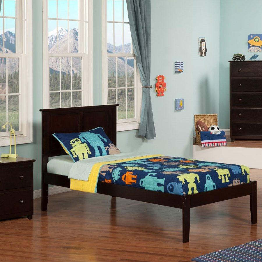 Atlantic Furniture Madison Espresso Twin Xl Platform Bed