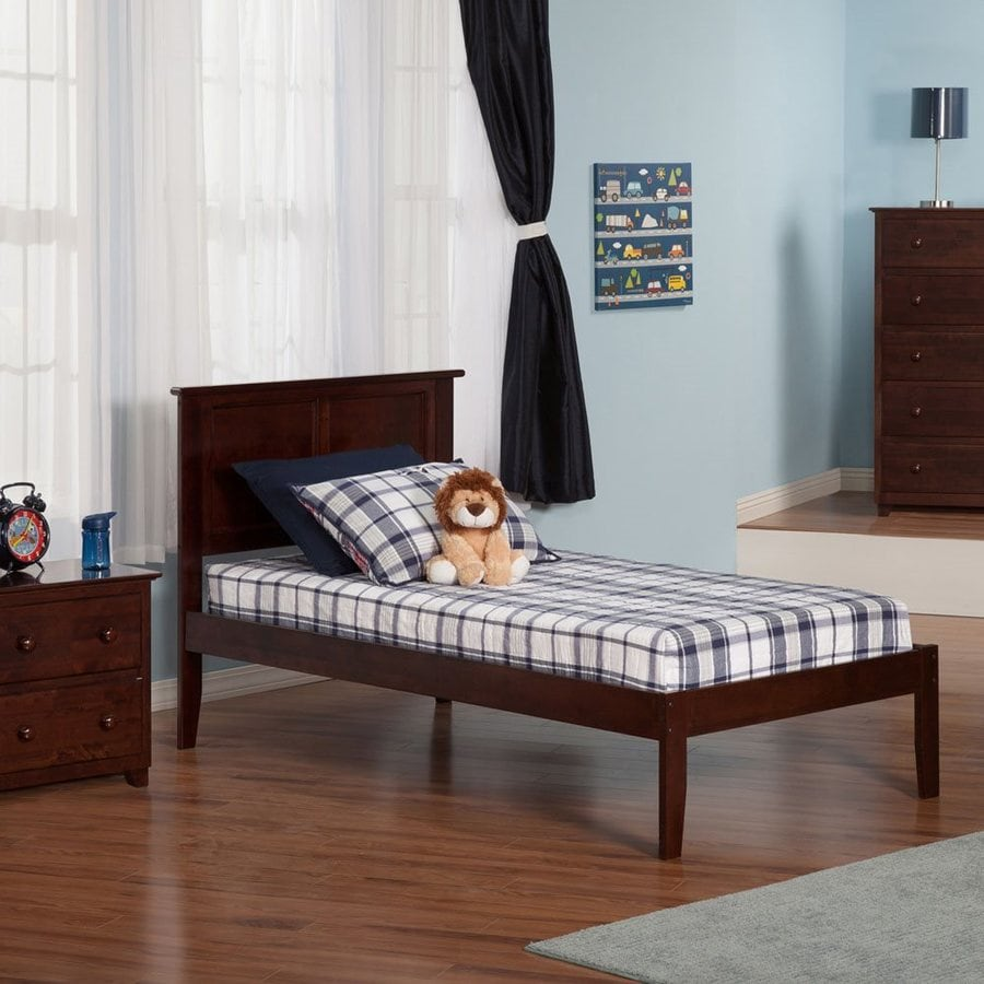 Delicieux Atlantic Furniture Madison Antique Walnut Twin Xl Platform Bed