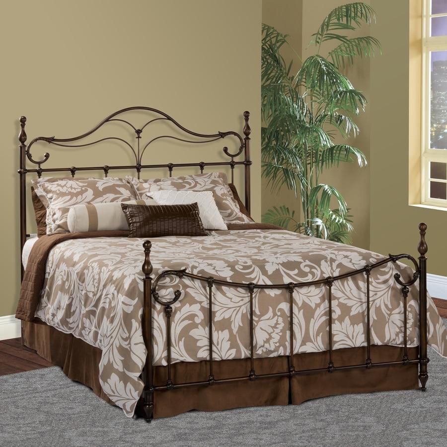 Hillsdale Furniture Bennett Antique Bronze Queen 4-Poster Bed