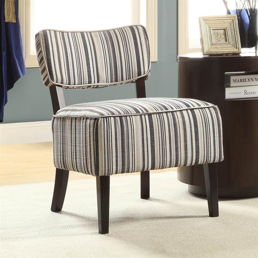 Homelegance Orson Casual Blue Tonal Cotton Accent Chair