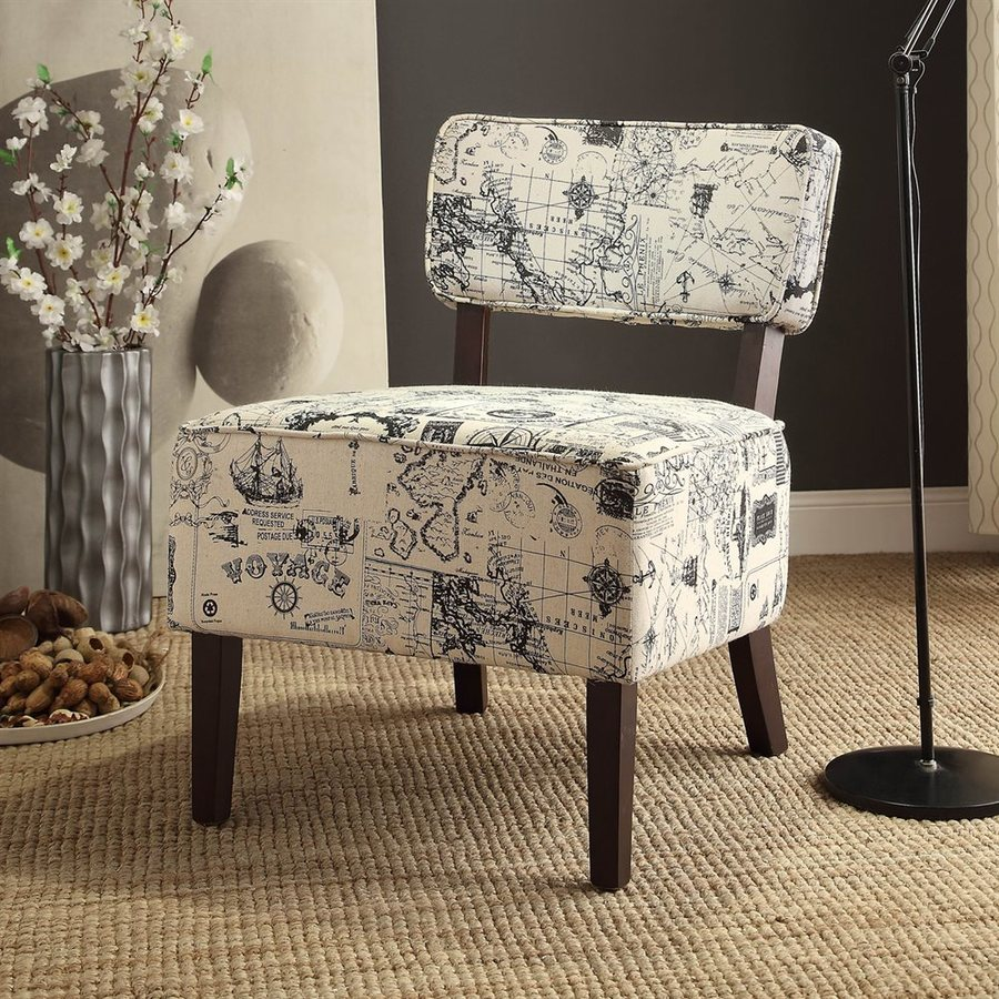 Homelegance Orson Casual Cotton Accent Chair