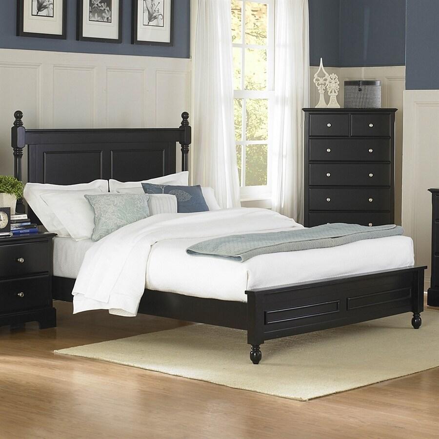 Homelegance Morelle Black Full Panel Bed