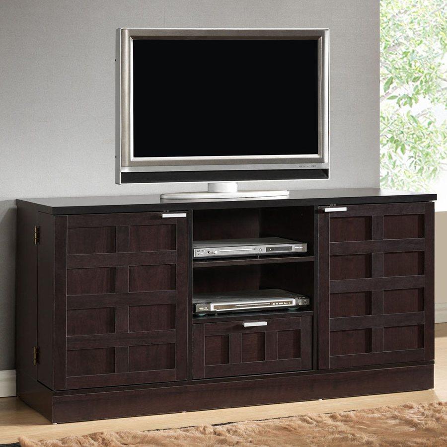 Baxton Studio Tosato Wenge Rectangular TV Cabinet