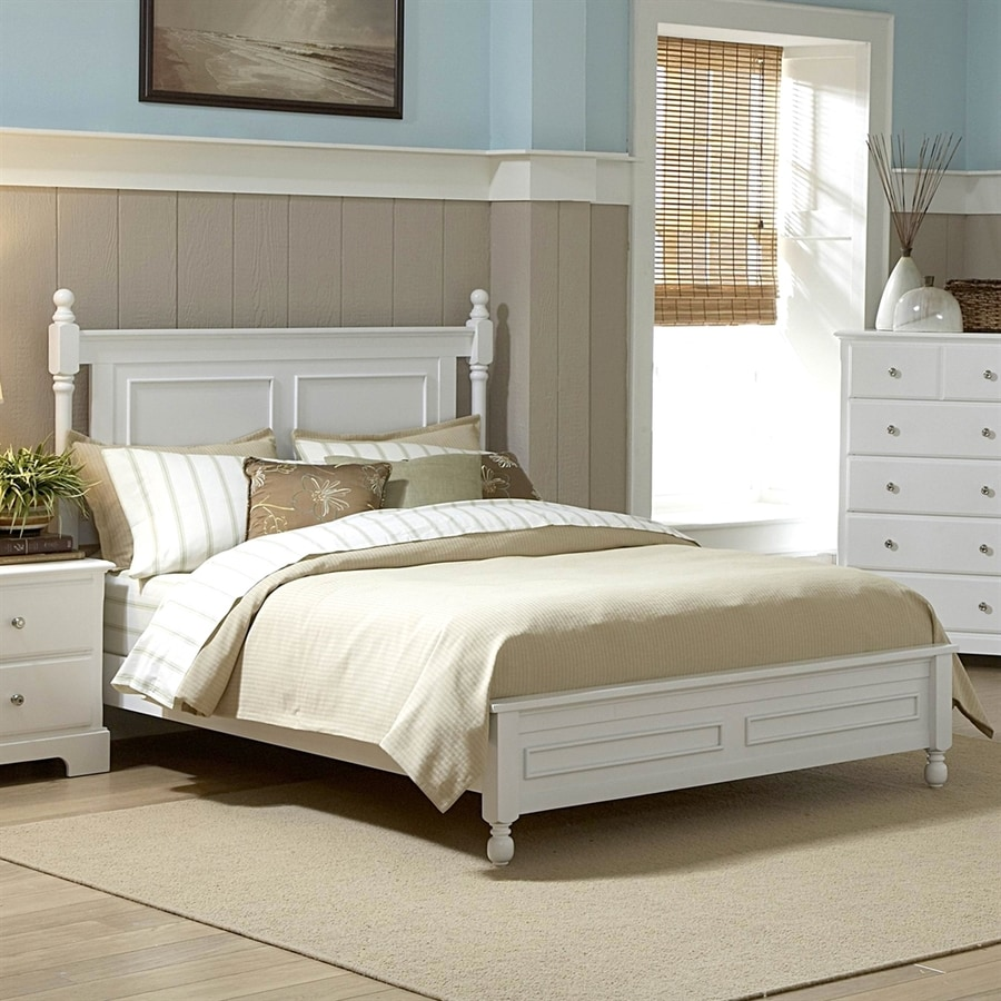 Homelegance Morelle White California King Panel Bed