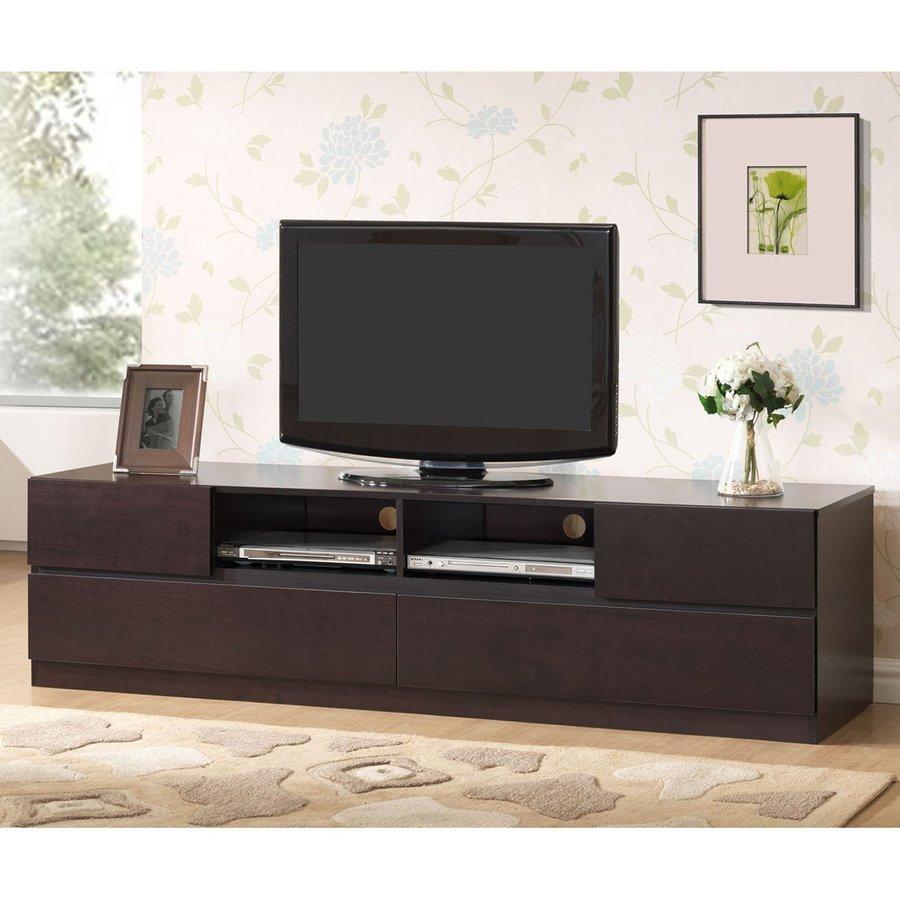Baxton Studio Lovato Wenge Rectangular TV Cabinet
