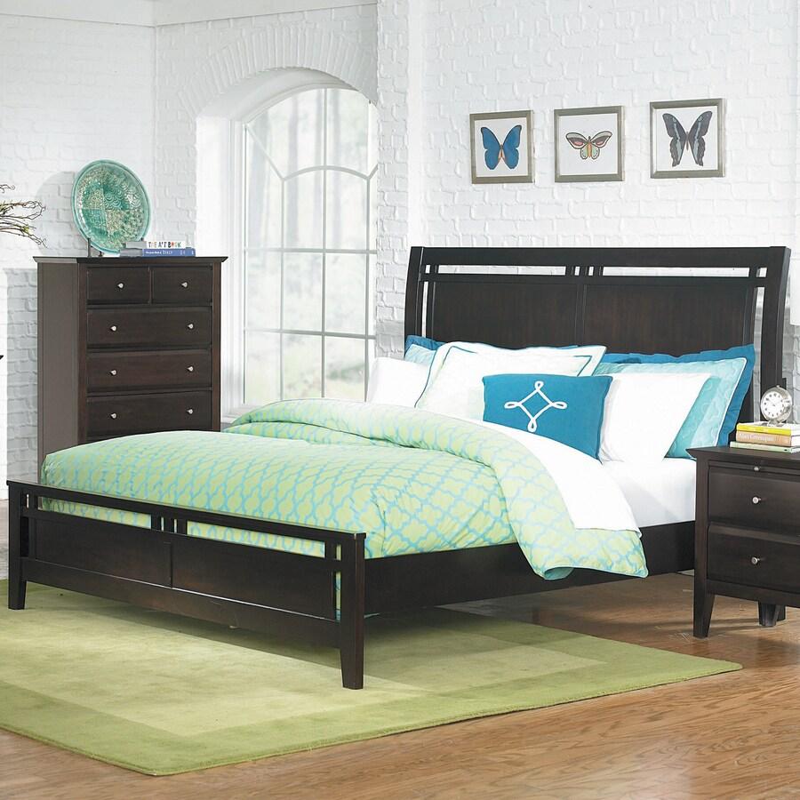 Homelegance Verano Espresso Queen Panel Bed