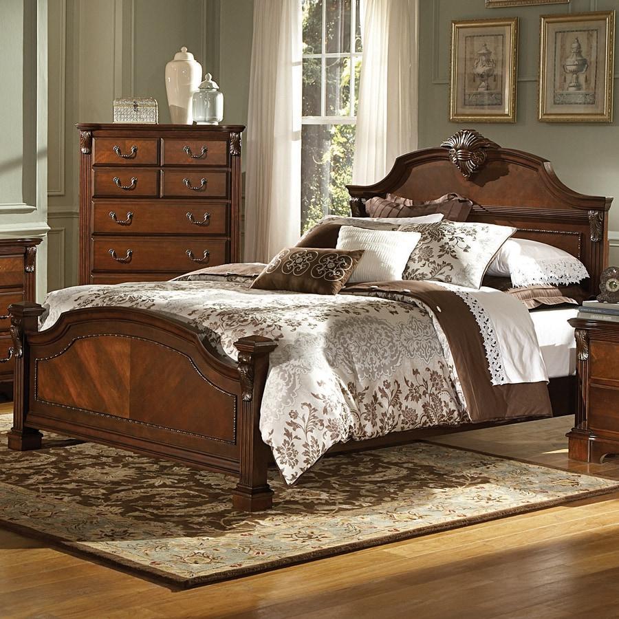 Homelegance Legacy Warm Cognac Queen Panel Bed
