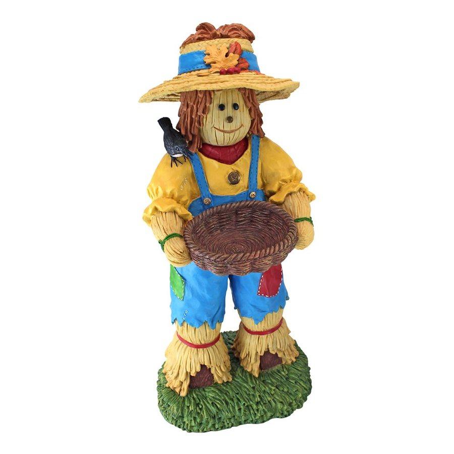 Design Toscano Happy Harvest Scarecrow