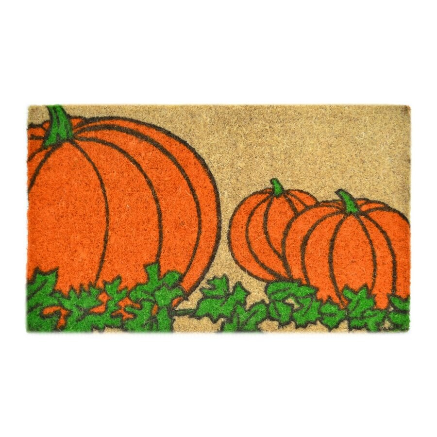 Imports Decor 0.12-ft Pumpkin Mat