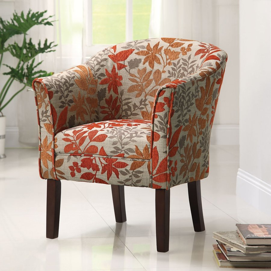 Coaster Fine Furniture Casual Autumn Leaves Accent Chair