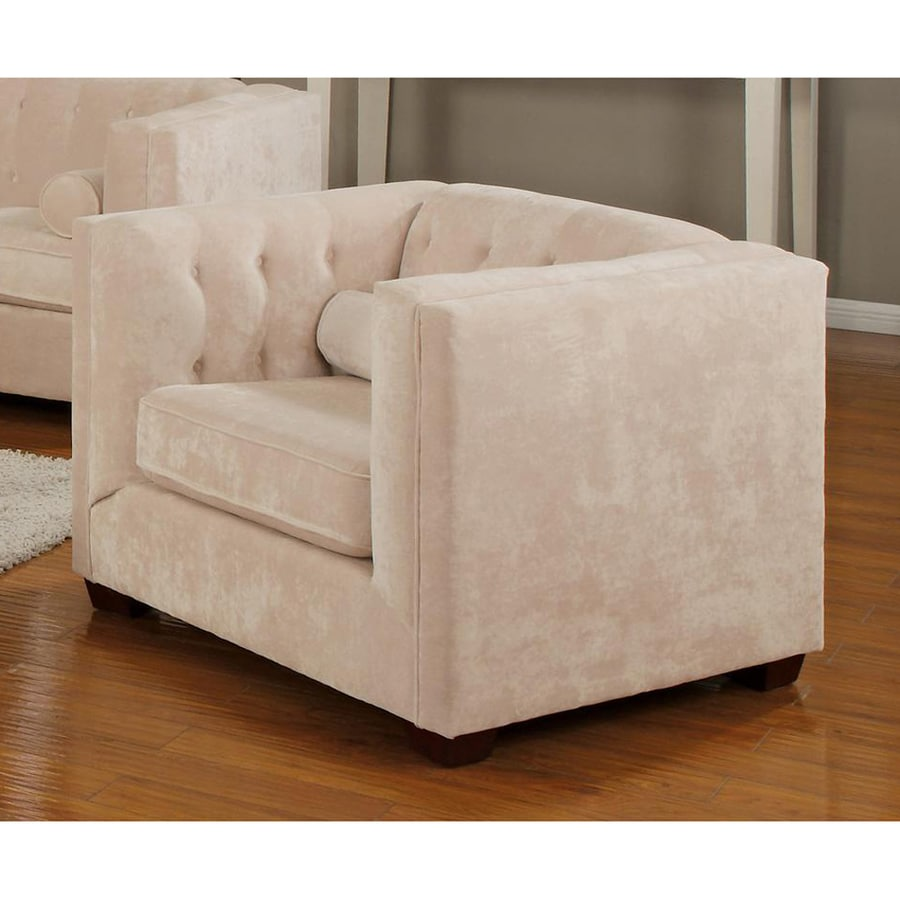 Coaster Fine Furniture Alexis Casual Almond Velvet Club Chair